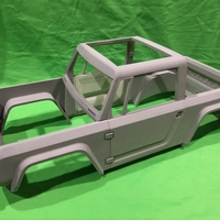 Small Bronco Concept RC Body 3D Printing 200619