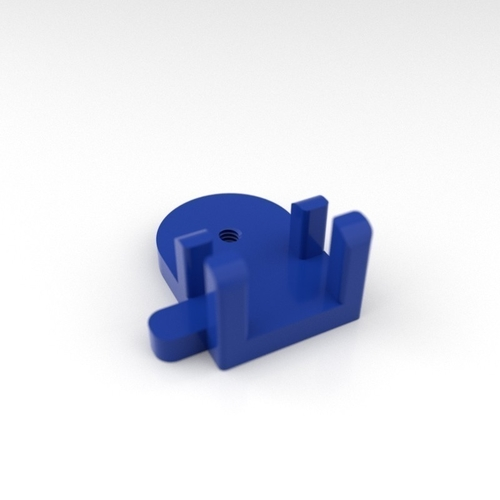 Mobile Phone Holder for small tripod 3D Print 200646