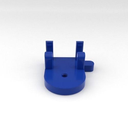 Mobile Phone Holder for small tripod 3D Print 200654