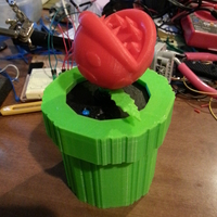 Small SMB3 Mario Pipe Top Audio Insert  3D Printing 20067