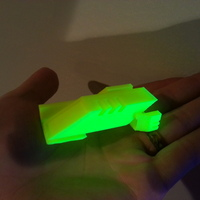 Small Ingress Portal Key 3D Printing 20077