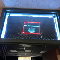 Small Glass frame with built in LEDs 3D Printing 200836