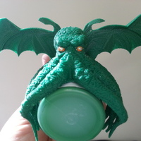 Small Cthulhu Wings 3D Printing 20085