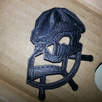 Small Shady Pirate charm 3D Printing 20095