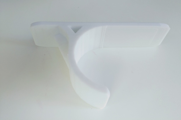Superb 3D Printed Baseball Bat Wall Hanger By Vadimg Pinshape Inzonedesignstudio Interior Chair Design Inzonedesignstudiocom