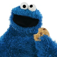 Small Cookie Monster 3D Printing 20126