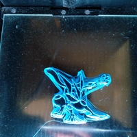Small Greninja shell/Biscuit cutter 3D Printing 201338