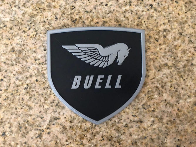 Buell American Motorcycles Pegasus Logo Sign 3D Print 201407