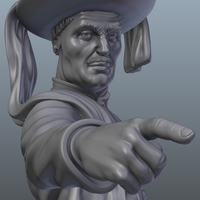 Small Prince Henry the Navigator / Infante Dom Henrique 3D Printing 201443