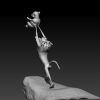 Small Lion King 3D Printing 201515