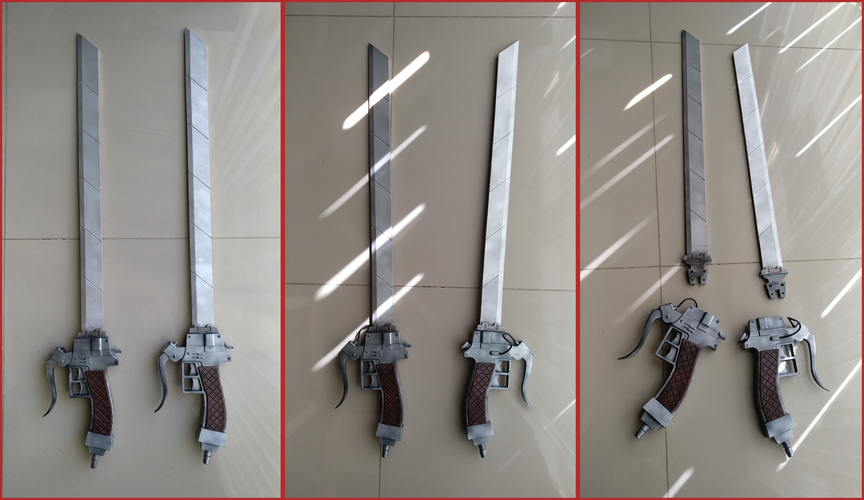"Anime sword ""Attack on Titan"" 3D Print 201596"