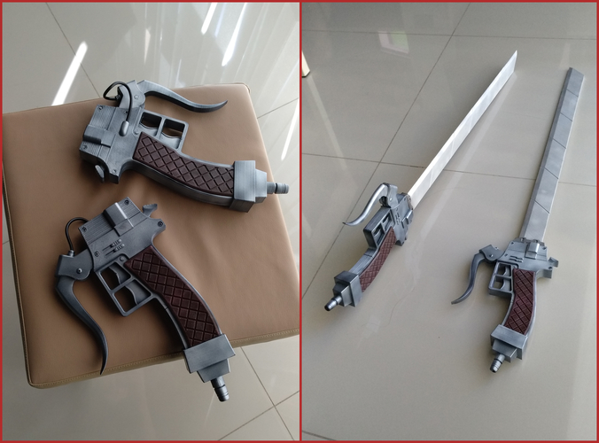 "Anime sword ""Attack on Titan"" 3D Print 201597"