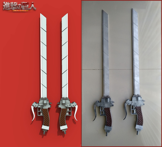 "Anime sword ""Attack on Titan"" 3D Print 201599"