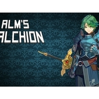 Small Alm's Falchion 3D Printing 201685