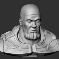 Small Thanos Bust 3D Printing 201693