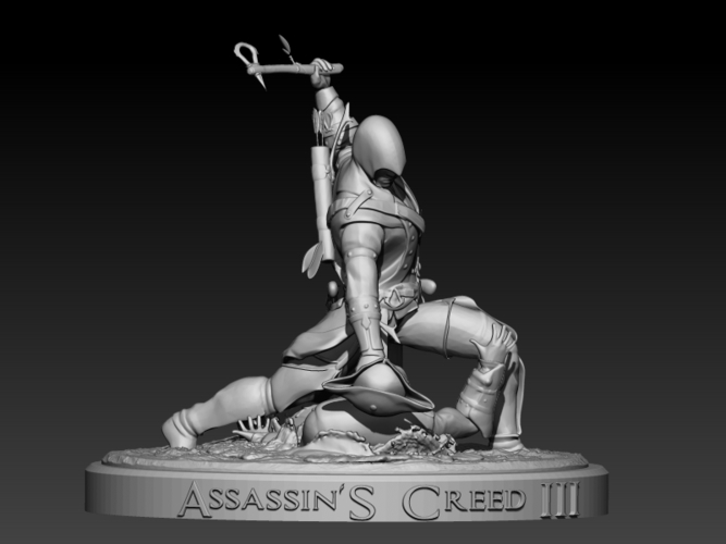 Assassins Creed III 3D Print 201713