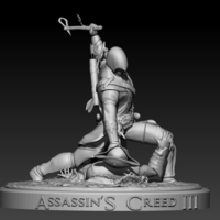 Small Assassins Creed III 3D Printing 201713