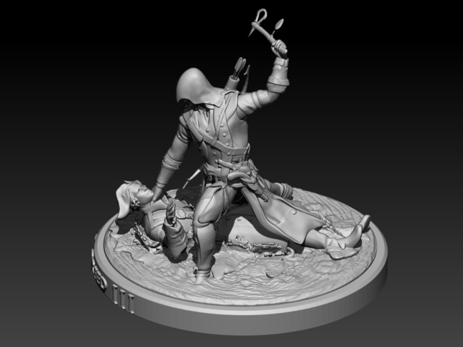 Assassins Creed III 3D Print 201715