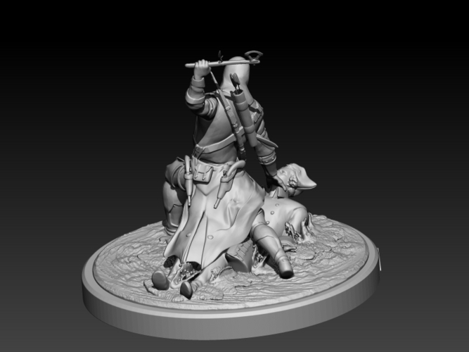 Assassins Creed III 3D Print 201716