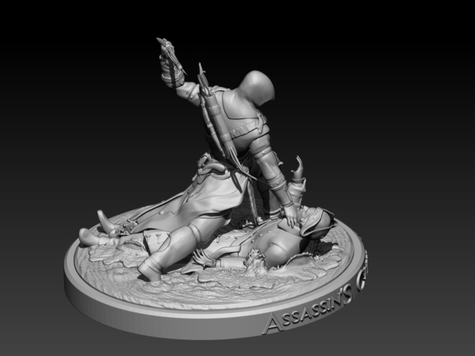 Assassins Creed III 3D Print 201717
