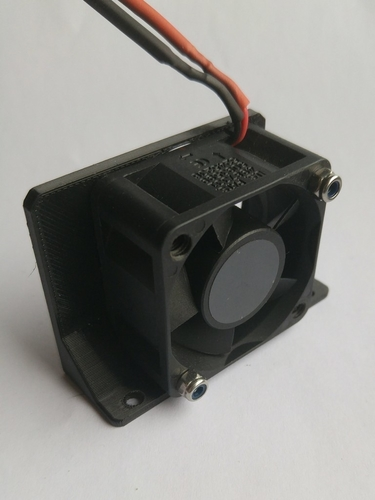 Control Box (4020) Fan Mount for Ender-2  3D Print 201719