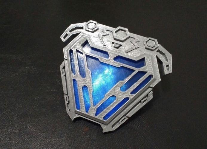 Nanotech arc reactor from infinity war 3D print model