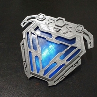 Small Nanotech arc reactor from infinity war 3D print model 3D Printing 201731