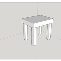 Small table 3D Printing 201745