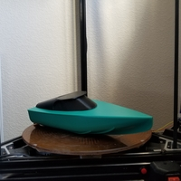 Small 3D Jet Boat 3D Printing 201973