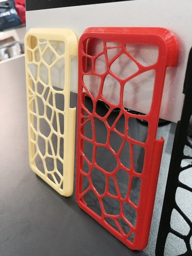 Voronoi case iPhone 6  3D Print 20199