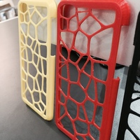 Small Voronoi case iPhone 6  3D Printing 20199