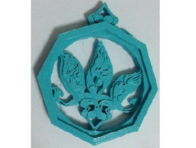 accessories for Chinese  knot  3D Print 20201