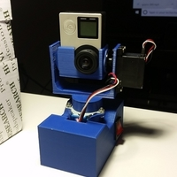 Small Portable GoPro 360 photo device 3D Printing 202036
