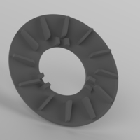 Small Scooter variator fan (50cc-100сс) 3D Printing 202122