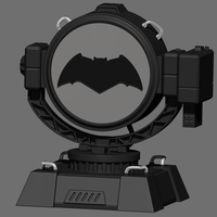 Small Signal Night Light Base for Batman - Superman - Justice League 3D Printing 202280