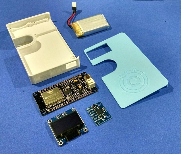 IoT Smart Wallet (with Firebbetle ESP32 and Arduino IDE) 3D Print 202392