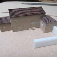 Small Mediterranean style House 3D Printing 202473