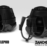 Small Telepod 3D Printing 202647