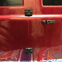 Small Door hinges and  Door handles for Traxxas TRX-4 i3 mega 3D Printing 202730