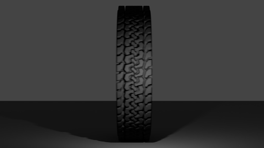 How To Model a Tire for 3D Printing in Blender 3D Print 202825