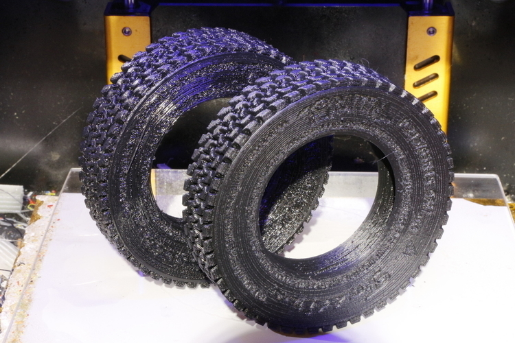 How To Model a Tire for 3D Printing in Blender 3D Print 202826
