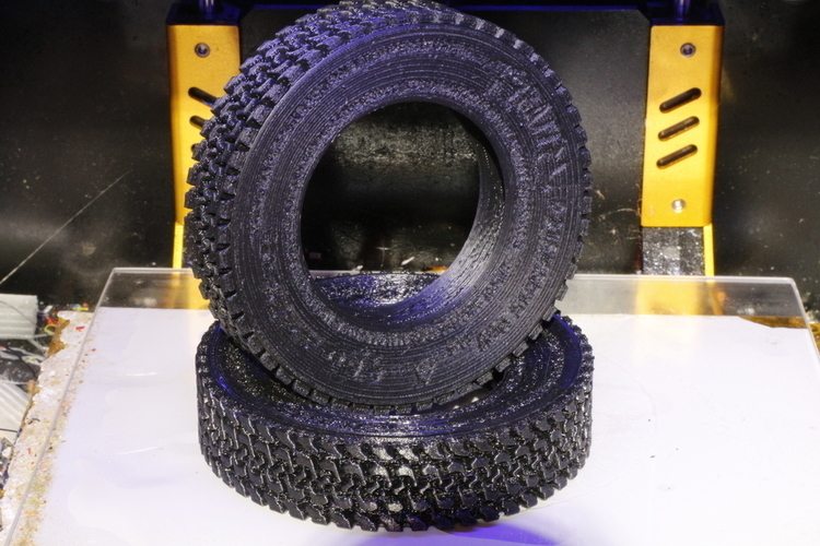 How To Model a Tire for 3D Printing in Blender 3D Print 202827