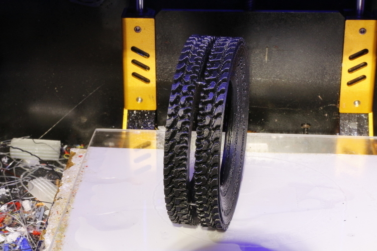 How To Model a Tire for 3D Printing in Blender 3D Print 202829
