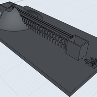 Small Roman Empire Aqueduct 3D Printing 202882