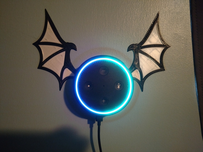 Echo Dot Bat 3D Print 202990