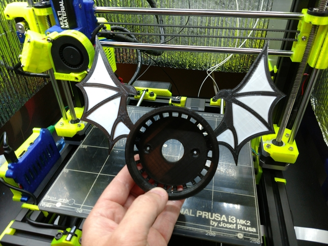 Echo Dot Bat 3D Print 202991