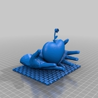 Small Open hands holding heart 3D Printing 202996