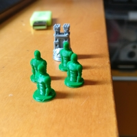 Small GOT Risk Game Soldier 3D Printing 203004