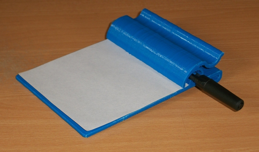 Small clipboard for shopping lists etc. 3D Print 203032