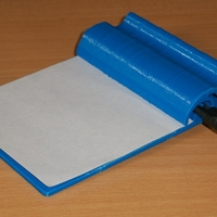 Small Small clipboard for shopping lists etc. 3D Printing 203032